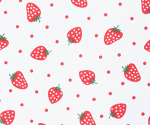 background, patterns, and strawberries image