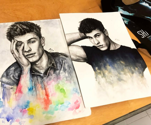 shawn mendes and art image