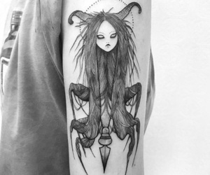 ink, inked, and tattoo image