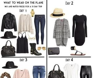 outfit and capsule wardrobe image