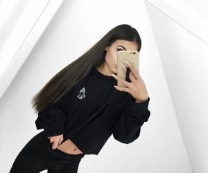 adidas, girls, and gold image