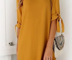 style, bag, and dress image