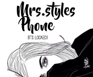 lock, phone, and styles image