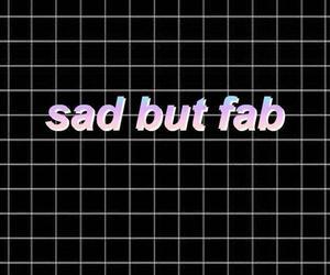 sad, wallpaper, and fab image