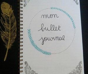 bullet journal, 😚, and page de garde image