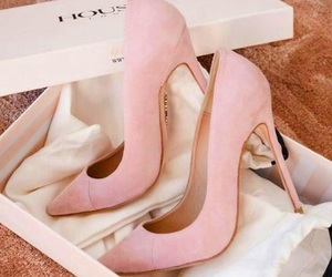 pink and shoe image