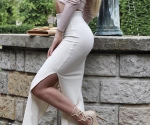 beige, heels, and cream image