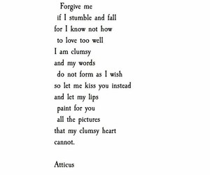 atticus, heart, and quote image