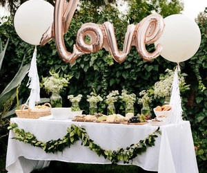 wedding, decoration, and party image