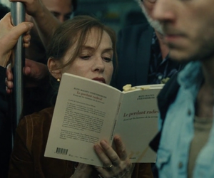 book and isabelle huppert image