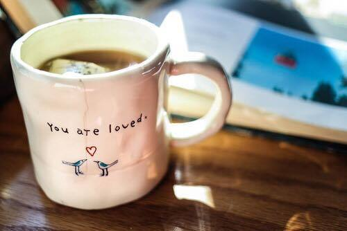 love and tea image
