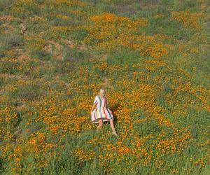 girl and orange image
