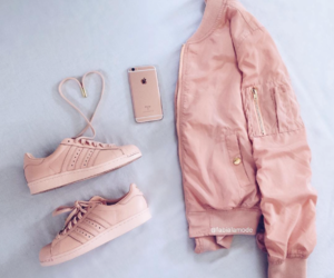 pink, fashion, and iphone image