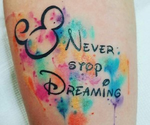 disney and dreaming image