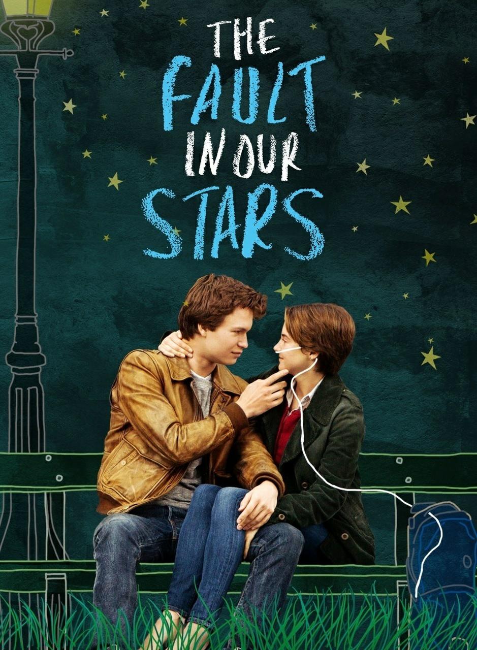 hazel, the fault in our stars, and bajo la misma estrella image