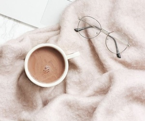 coffee, cozy, and glasses image