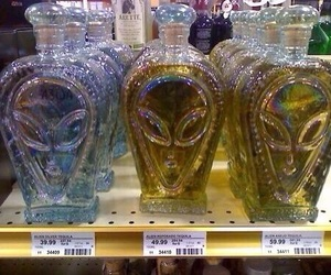 alien, grunge, and tequila image