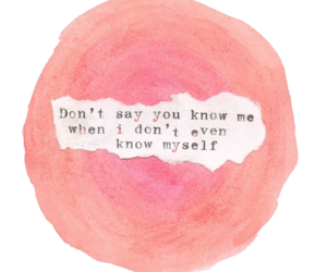 quotes, pink, and frases image