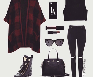 fashion, black, and grunge image