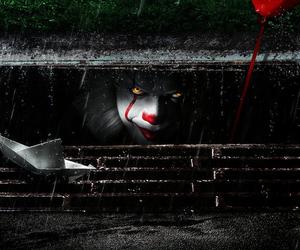clown, it, and fondos image