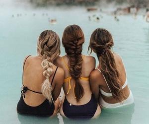 braids, hair, and hair goals image