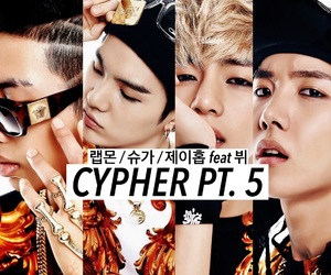 edit, cypher, and bts image