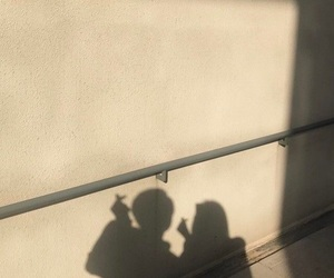 aesthetic, couple, and shadow image