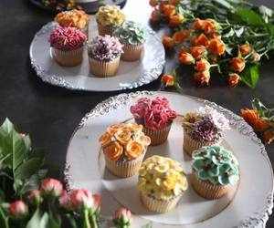 sweet, cakes, and cupcake image