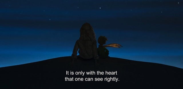 heart, movie, and quotes image