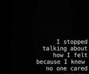 sad, quotes, and alone image