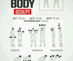 exercise, health, and fitness image