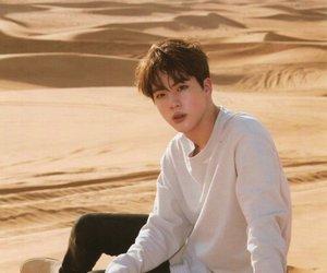 desert, seokjin, and jin image