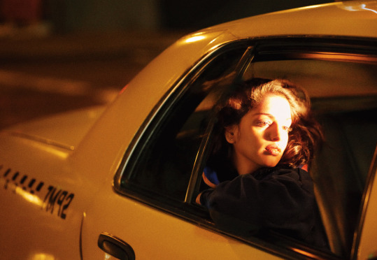 girl, taxi, and photography image