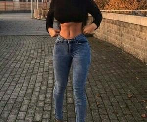 pretty, slim, and body goals image