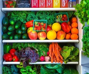 colorful, fridge, and colors image
