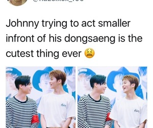 exo, johnny, and nct memes image