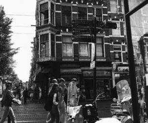 adam, amsterdam, and black and white image