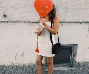 balloon, dresses, and fashion image