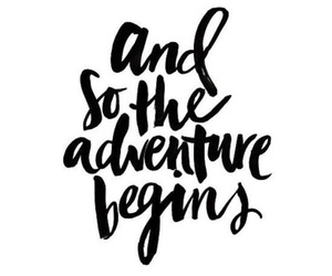 adventure, overlay, and quote image