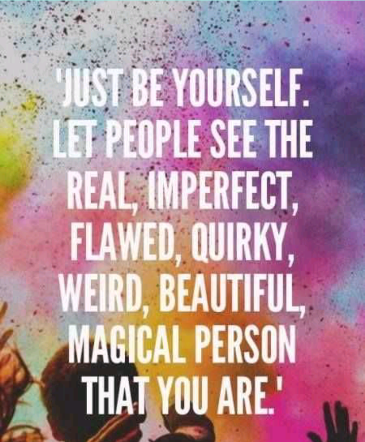 quotes, life, and be yourself image