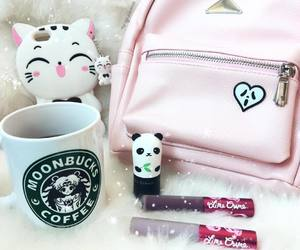 coffee, tumblr, and makeup image