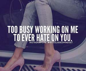hate, me, and quote image