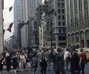 new york city, vintage, and nyc image