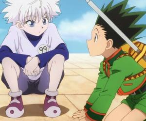 killua, gon, and anime image