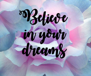 Citations, dreams, and flowers image