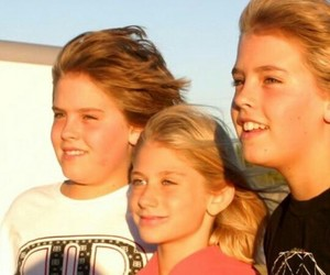 baby, dylan sprouse, and cole sprouse image