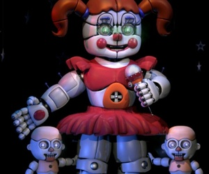 baby, scott cawthon, and fnaf image