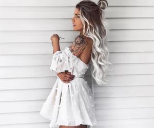 hair, fashion, and dress image