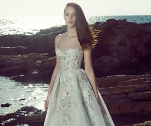 wedding, wedding dress, and Zuhair Murad image