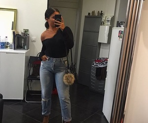clothes, jean, and outfit image
